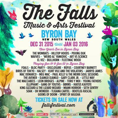 Falls band poster