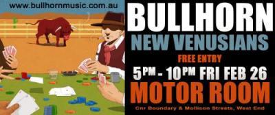 Bullhorn band poster